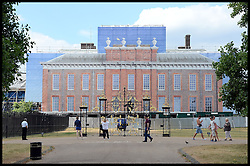 Building work continues at Kensington Palace the official residence of the Duke and Duchess of Cambridge and their new baby boy<br /> London, United Kingdom<br /> Wednesday, 24th July 2013<br /> Picture by Andrew Parsons / i-Images