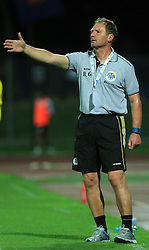 Head coach of Hibernians Robert Gatt during 2nd match of 1st round Intertoto Cup soccer match between ND Gorica and Hibernians FC at Sports park, on June 28,2008, in Nova Gorica, Slovenia. (Photo by Vid Ponikvar / Sportal Images)