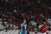 Fotball<br /> 16.09.2014<br /> UEFA Champions League<br /> Foto: imago/Digitalsport<br /> NORWAY ONLY<br /> <br /> Zenit midfielder Axel Witsel celebrates after scoring a goal during a soccer match between Portugal s SL Benfica and Russian s FC Zenit for the group stage of the UEFA Champions League, in Benfica s Luz Stadium in Lisbon, Portugal, on September 16, 2014.