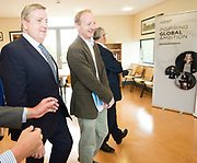 11/07/2017  REPRO FREE:   (RtoL)Mr David Lee Head of buildings and Estates GMIT,  Minister of State Pat Breen, Department of Enterprise and Innovation,   on a visit to the iHub and GMIT . Photo:Andrew Downes, xposure .