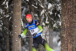 March 9, 2019 - –Stersund, Sweden - 190309 Jakov Fak of Slovenia competes in the Men's 10 KM sprint during the IBU World Championships Biathlon on March 9, 2019 in Östersund..Photo: Petter Arvidson / BILDBYRÃ…N / kod PA / 92252 (Credit Image: © Petter Arvidson/Bildbyran via ZUMA Press)