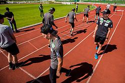 Training of Slovenian Ski Jumping team, on April 25th, 2019 in Sports Park Kranj, Kranj, Slovenia. Photo by Grega Valancic / Sportida