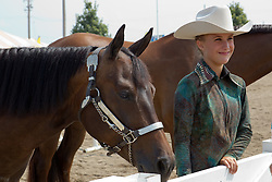 01 August 2014:   McLean County Fair.  Contestants compete in the equine competitions. This image available for EDITORIAL USE ONLY. A release may be required. Additional information by contacting alook at alanlook.com