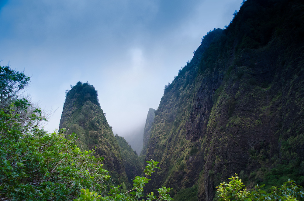 Iao Needle, 'Iao Valley State Monument, Maui, Hawaii, US