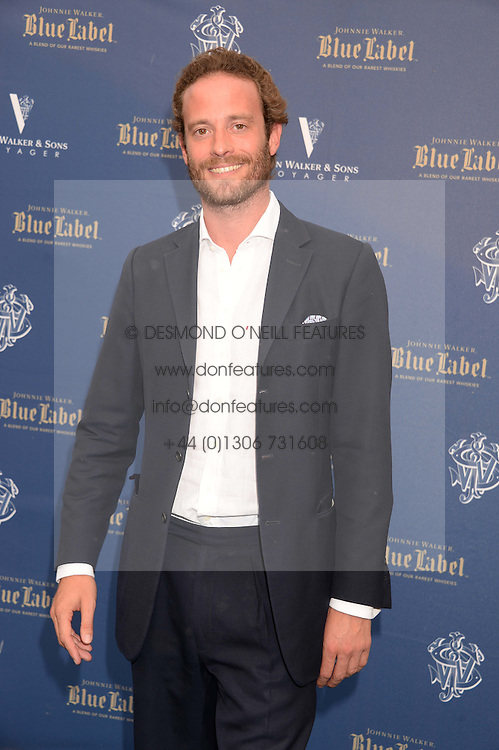 The Johnnie Walker Blue Label and David Gandy Drinks Reception aboard John Walker & Sons Voyager, St.Georges Stairs Tier, Butler's Wharf Pier, London, UK on 16th July 2013.<br /> Picture Shows:-Count Riccardo Lanza.