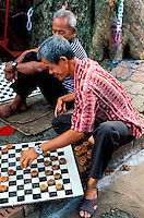Malaisie, Malacca,  Jeux de Dame // Malaysia, Malacca, chess game