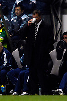 Photo: Jed Wee/Sportsbeat Images.<br /> Newcastle United v Arsenal. The FA Barclays Premiership. 05/12/2007.<br /> <br /> Newcastle manager Sam Allardyce watches the game over a hot drink.