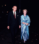 Senator and Mrs. Mike Mansfield (wife  Maureen Hayes) in October 1969<br />Photo by Dennis Brack bb72