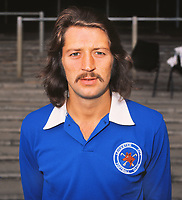 Football - 1973 /  1974 Leicester City Photocall<br /> <br /> Frank Worthington of Leicester City at Filbert street