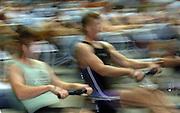 2005 British Indoor Rowing Championships, BUSA Event. National Indoor Arena, Birmingham, ENGLAND,    20.11.2005   © Peter Spurrier/Intersport Images - email images@intersport-images..[Mandatory Credit Peter Spurrier/ Intersport Images] Slow Shutter