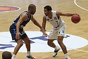 Basketball: Deutschland, 1. Bundesliga, Hamburg Towers -  Alba Berlin, Hamburg, 23.03.2021<br /> Kameron Taylor (Towers, r.)<br /> © Torsten Helmke