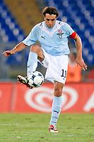 """Sebastiano Siviglia Lazio<br /> Roma 20/8/2009 Stadio """"Olimpico"""" <br /> Europa League Play Offs<br /> Lazio-Elfsborg (3-0) <br /> Foto Andrea Staccioli Insidefoto"""