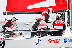 , Kiel - Kieler Woche 17. - 25.06.2017, Audi e-tron Cup - Boot 1 - Team Winter Olympics - Fritz Dopfer, Bene Mayr, Daniel Bohnacker