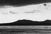 Hills of the Llyn Peninsula from Llanddwyn Beach on Anglesey