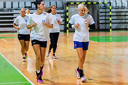 Players during Practice session of RK Krim Mercator before new season 2015/16, on July 31, 2015 in Ljubljana, Slovenia. Photo by Ziga Zupan / Sportida