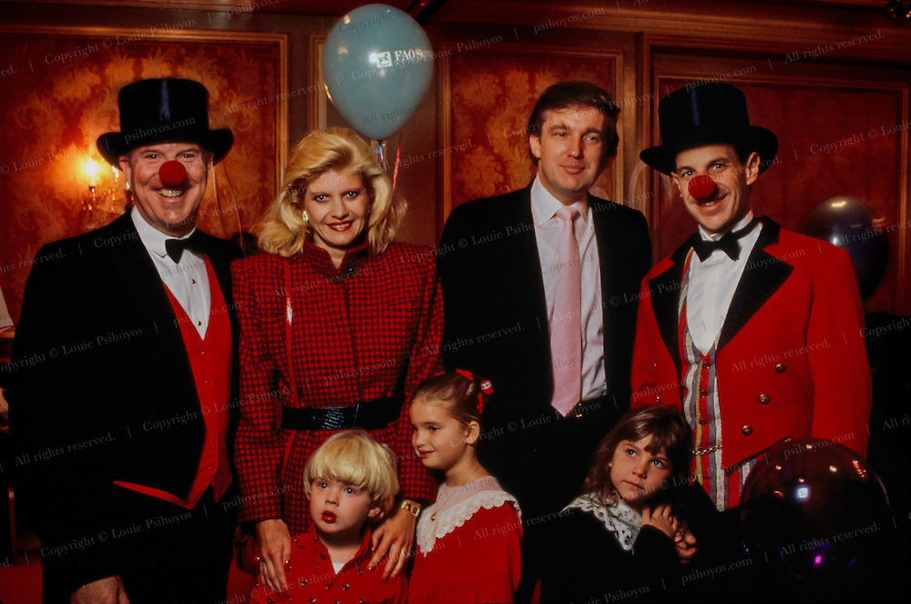 Trump Family at Fundraiser