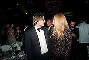 MARIO SORRENTI; MARY FREY, The Global launch of the 2012 Pirelli Calendar by Mario Sorrenti.  Dinner at the Park Avenue Armory. Manhattan. 6 December 2011.