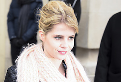 January 24, 2017 - Paris - Lucy Boynton (Credit Image: © Panoramic via ZUMA Press)