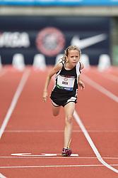 Olympic Trials Eugene 2012: 100 meter Bantam race, Peyton Green