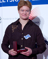 Martinka Ratej at Best Slovenian athlete of the year ceremony, on November 15, 2008 in Hotel Lev, Ljubljana, Slovenia. (Photo by Vid Ponikvar / Sportida)