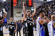 DESCRIZIONE : Campionato 2015/16 Serie A Beko Dinamo Banco di Sardegna Sassari - Dolomiti Energia Trento<br /> GIOCATORE : Filippo Baldi Rossi<br /> CATEGORIA : Ritratto Esultanza Postgame <br /> SQUADRA : Dolomiti Energia Trento<br /> EVENTO : LegaBasket Serie A Beko 2015/2016<br /> GARA : Dinamo Banco di Sardegna Sassari - Dolomiti Energia Trento<br /> DATA : 06/12/2015<br /> SPORT : Pallacanestro <br /> AUTORE : Agenzia Ciamillo-Castoria/C.Atzori