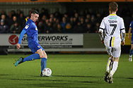 AFC Wimbledon midfielder Anthony Hartigan (8) about to pass the ball during the EFL Sky Bet League 1 match between AFC Wimbledon and Burton Albion at the Cherry Red Records Stadium, Kingston, England on 28 January 2020.