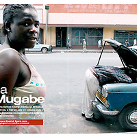 USE ARROWS ← → on your keyboard to navigate this slide-show<br /> <br /> Unica - Portuguese news magazine<br /> Political crisis in Zimbabwe, feature published in December 2007.<br /> Photo: Ezequiel Scagnetti<br /> Text: Daniel Rosario