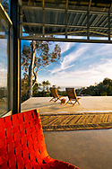 Outtake from an architectural shoot for Barton Myers Associates Architects, in Montecito, California.