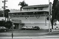 1987 Spago Restaurant on Sunset Blvd.