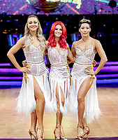 Luba Mushtuk,Dianne Buswell and Karen Hauer  during Strictly Come Dancing - The Live Tour at Arena Birmingham,King Edwards Road,Birmingham photo by Chris  Wayne