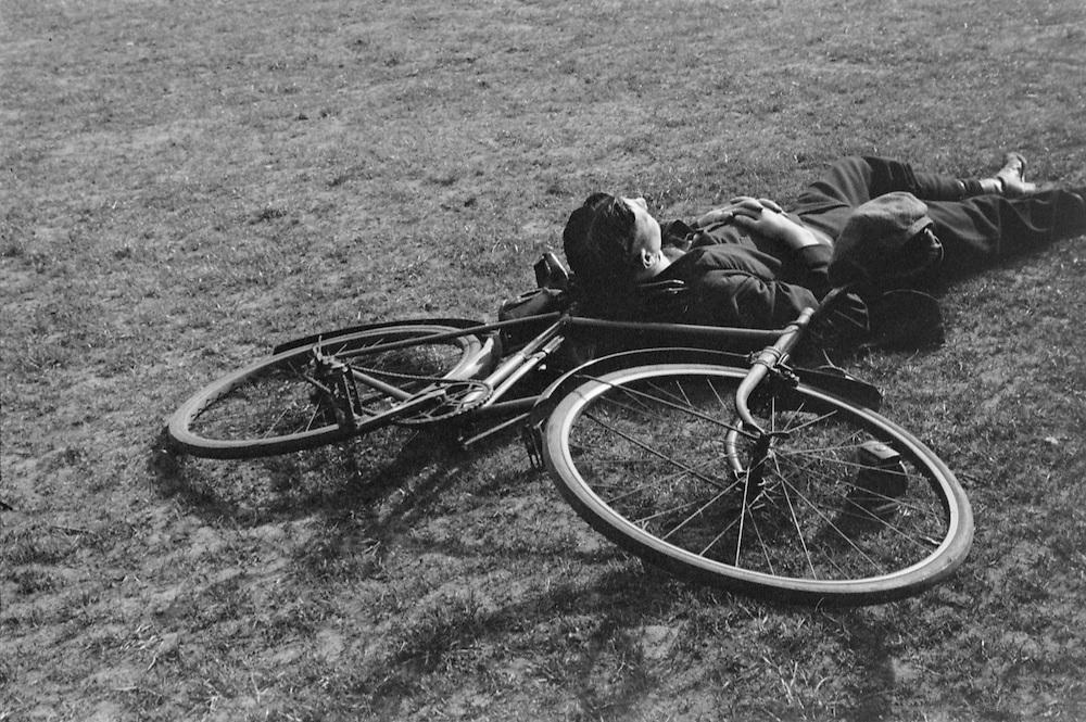 Hyde Park, Children on Bikes, London, 1934