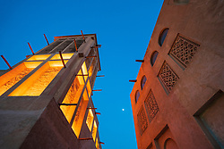 Original historic Al Fahidi district in Dubai, United Arab Emirates