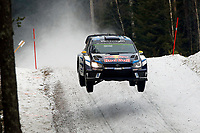 09	Volkswagen Motorsport II, Mikkelsen Andreas, Jaeger Synnevag Anders, Volkswagen, Polo R Wrc, Action during the 2016 WRC World Rally Car Championship, Sweden rally from February  12 to 14, at Hagfors - Photo Bastien Baudin / DPPI