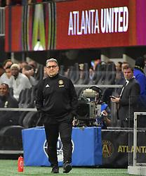 December 8, 2018 - Atlanta, GA, USA - Atlanta coach Gerardo Martino on the sidelines as Atlanta wins the MLS Cup 2-0 over the Portland Timbers on Saturday, Dec 8, 2018, in Atlanta. (Credit Image: © Curtis Compton/Atlanta Journal-Constitution/TNS via ZUMA Wire)