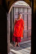 Monk, Myanmar