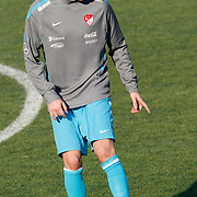 Turkey's national soccer team players Nuri SAHIN during their a training session in Istanbul March 25, 2011. Turkey will face Austria in the UEFA Euro 2012 qualification soccer match on 29 March 2011.  Photo by TURKPIX