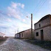 Empty street at Otero de Sariegos