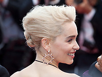 Emilia Clarke at the Solo: A Star Wars Story gala screening at the 71st Cannes Film Festival, Tuesday 15th May 2018, Cannes, France. Photo credit: Doreen Kennedy