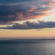 Last light, Luce Bay, Dumfries and Galloway, Scotland.