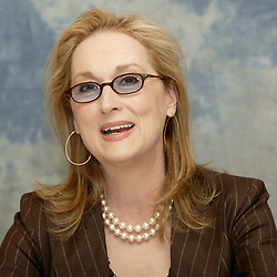 June 16, 2016 - Hollywood, California, U.S. - Meryl Streep promotes her new film ''The Devil Wears Prada'' in New York.on June 16, 2006  (Credit Image: © Armando Gallo via ZUMA Studio)