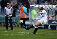 Rugby Union - 2017 International Women's Rugby Series - New Zealand v England<br /> <br /> Emily Scarratt of England Women kicks a conversion at the Rotorua International  Stadium, Rotorua .<br /> <br /> <br /> COLORSPORT/LYNNE CAMERON