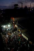 Timoteo_MG, de 29 de julho de 2010..O governador de Minas, Antonio Anastasia, candidato a reeleicao e o ex-governador Aecio Neves, candidato ao Senado, participam e encontram empresários na região do Vale do Aço...Foto: MARCUS DESIMONI / NITRO