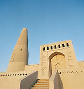 Emin Minaret and Mosque, Silk Route, Turpan, Xinjiang Province, China.