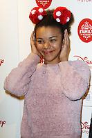 India Ria Amarteifio, Disney Store VIP Christmas Party, The Disney Store Oxford Street, London UK, 03 November 2015, Photo by Brett D. Cove