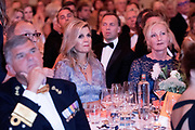 Koningin Máxima aanwezig bij benefietgaladiner Prinses Máxima Centrum in het Concertgebouw Amsterdam<br /> <br /> Queen Máxima attends at beneficial gala dinnerfor the  Princess Máxima Center in the Concertgebouw Amsterdam<br /> <br /> Op de foto / On the photo: Koningin Máxima