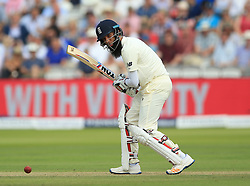 England's Moeen Ali during day one of the First Investec Test match at Lord's, London. PRESS ASSOCIATION Photo. Picture date: Thursday July 6, 2017. See PA story CRICKET England. Photo credit should read: Nigel French/PA Wire. RESTRICTIONS: Editorial use only. No commercial use without prior written consent of the ECB. Still image use only. No moving images to emulate broadcast. No removing or obscuring of sponsor logos.