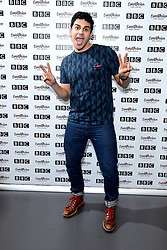 Liam Tamne during Eurovision: You Decide - Meet The Artists, an introduction to this year's UK hopefuls, at BBC, New Broadcasting House in London.