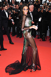 Winnie Harlow attending the Oh Mercy! premiere, during the 72nd Cannes Film Festival. Photo credit should read: Doug Peters/EMPICS