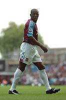 Photo: Tony Oudot. <br /> West Ham United v Manchester City. Barclays Premiership. 11/08/2007. <br /> Luis Boa Morte of West Ham