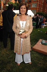 Actress LYNDA BELLINGHAM at the Lady Taverners Westminster Abbey Garden Party, The College Garden, Westminster Abbey, London SW1 on 10th July 2007.<br />